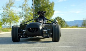 Рекламный автомобиль-трансформер The Mill BLACKBIRD
