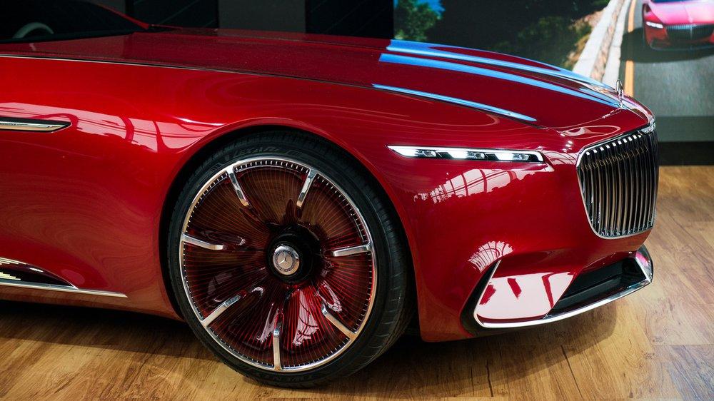Концепткар Mercedes-Maybach 6