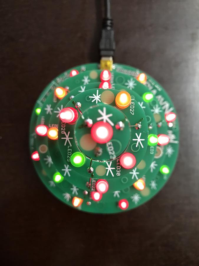 Светодиодная новогодняя ёлка