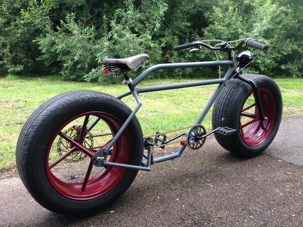 Велосипед на автошинах