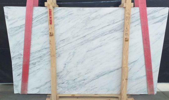 white marble slab packed