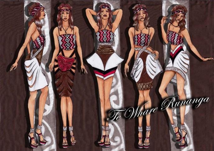 Te Whare Runanga Skirt Range