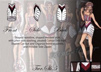 Te Whare Runanga - Skirt 5
