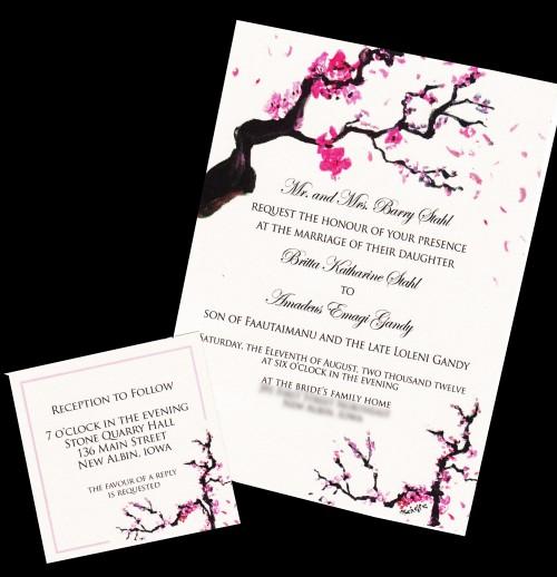 2012.01.05 - Wedding Invitation Published