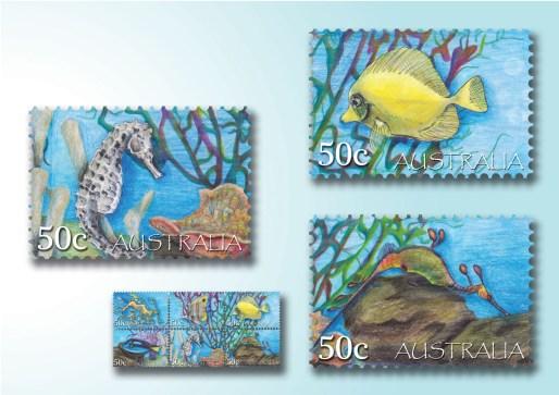 Karmaela Tropical Stamps 2