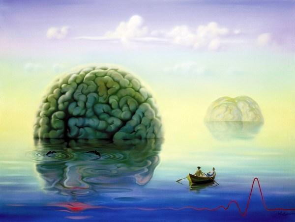 Surreal Reality Distortion Paintings Vladimir Kush Art