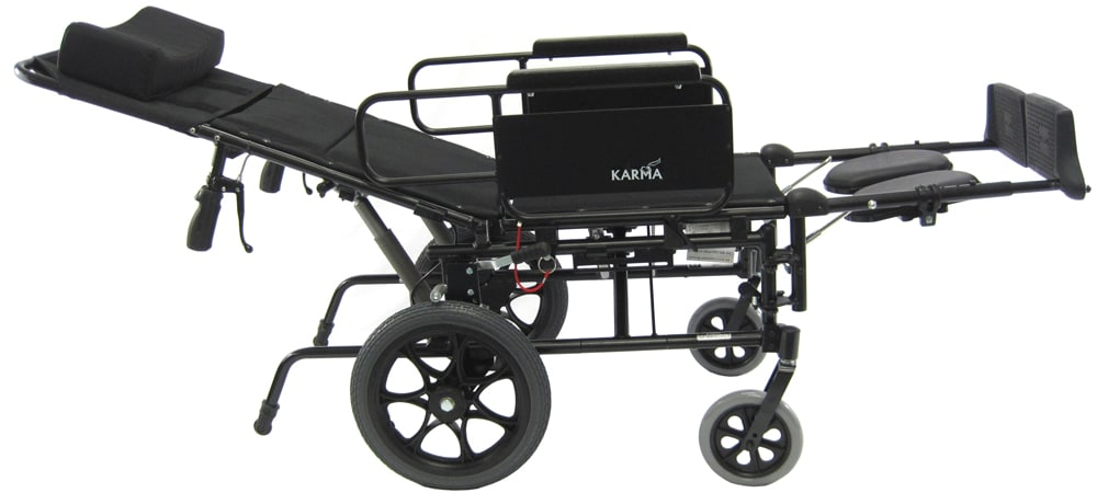 wheelchair accessories ebay harvest table chairs km 5000 tp 36 lbs t 6 reclining karma k0004 e1226 km5000tplay2xl