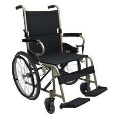 Shower Chair With Back And Armrests How To Make A Kitchen Km-9020l - 25 Lbs Lightweight Manual Wheelchair Karman Healthcare