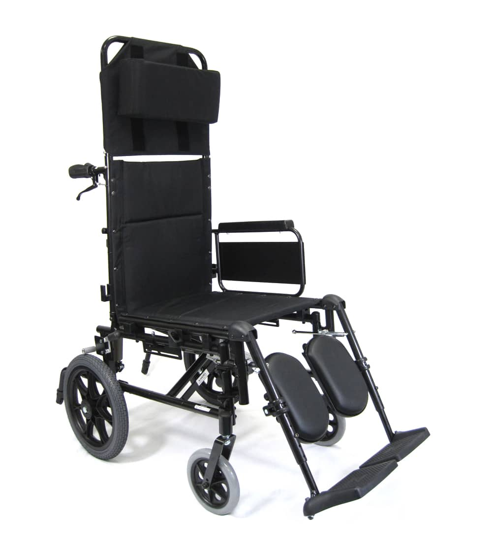 ultra lightweight folding chair gummy bear km-5000-tp - 36 lbs t-6 reclining wheelchair karma | k0004, e1226