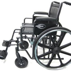 Bariatric Transport Chair 24 Seat Best After Spinal Surgery Kn-924w, 926w, 928w Wheelchair - Karman Healthcare