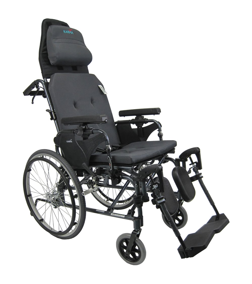 ergonomic chair replacement parts revolving at cheapest rate mvp-502-ms - 36 lbs manual reclining wheelchair w/ headrest