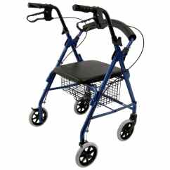 Wheelchair Cpt Code Hanging Chair Dubai R-4100 11 Lbs Low Seat Rollators - Walker With Wheels 6 Inch