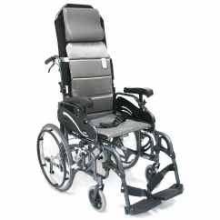 Ergonomic Chair Replacement Parts Lounge Material Vip-515 - 38 Lbs Lightest Foldable Adult Tilt In Space Wheelchair