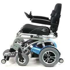 Chair Stand Power Modern Restaurant Chairs Xo 202 Up Wheelchair Powerchair Side View