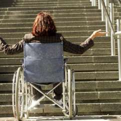 Electric Chair For Stairs In India Spandex Covers Black How To Get A Wheelchair Up And Down Guide Climbing