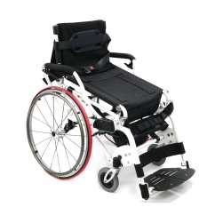 Wheelchair Manual Massage Chair Brands Xo 55 Sit To Stand Karman Healthcare Quarter Position