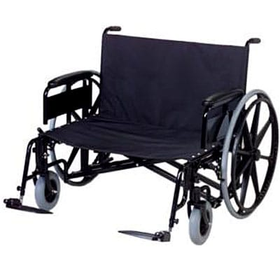 bariatric transport chair 500 lbs office repair oversized wheelchair for heavy people duty wheel oversize 400x400