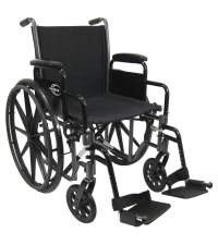 LT-700T - 36 lbs Wheelchair With Removable Armrests K0003 ...