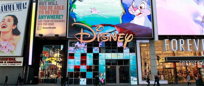 TImes Square Disney Store