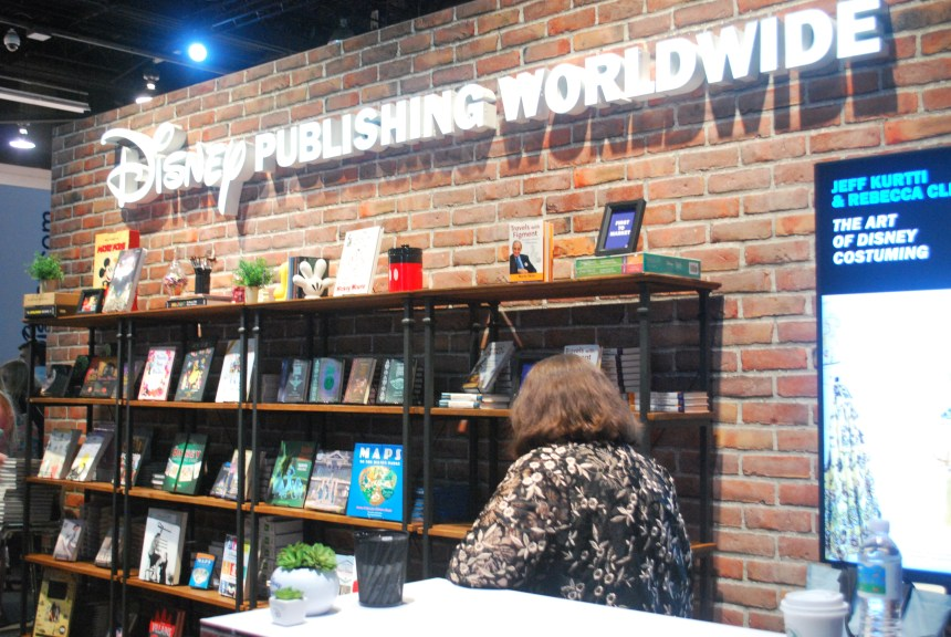 Disney Publishing Worldwide held countless signings at the D23 Expo.