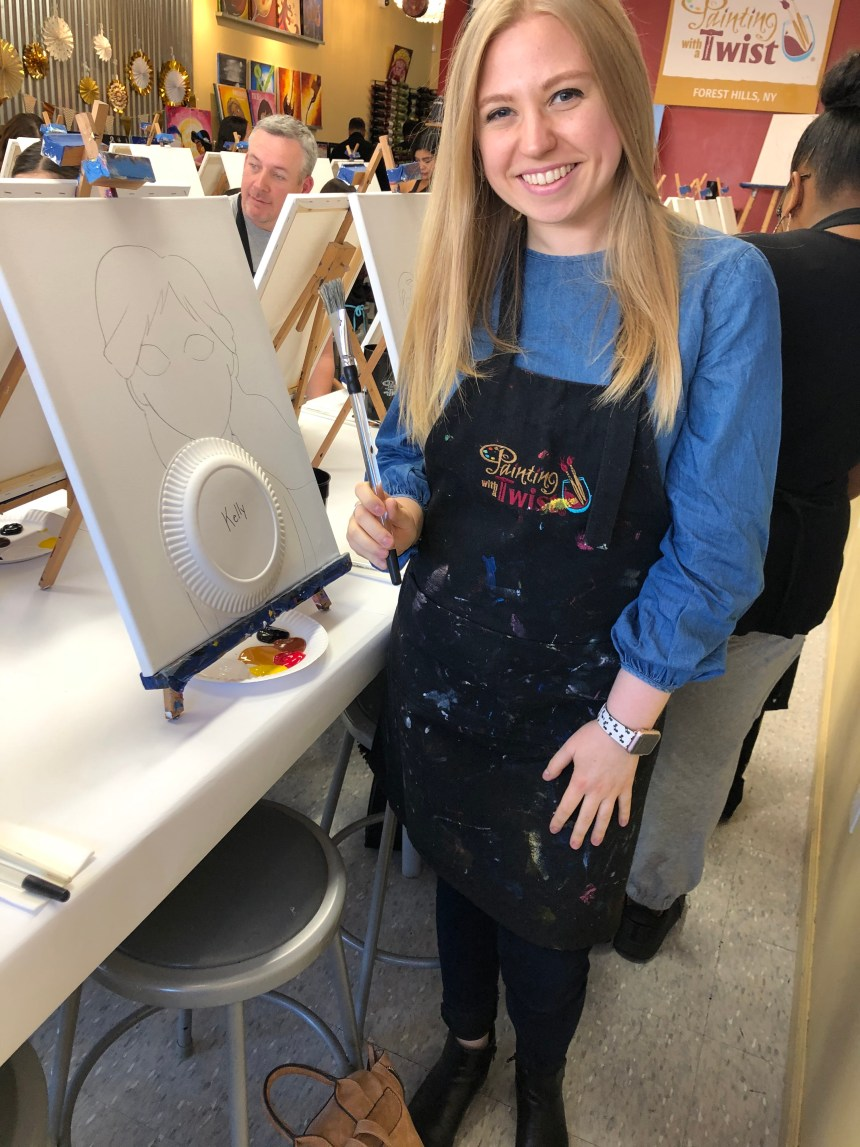 Frozen 2 Painting with a Twist class is a great way to spend a couple hours with the family, friends, or your significant other!