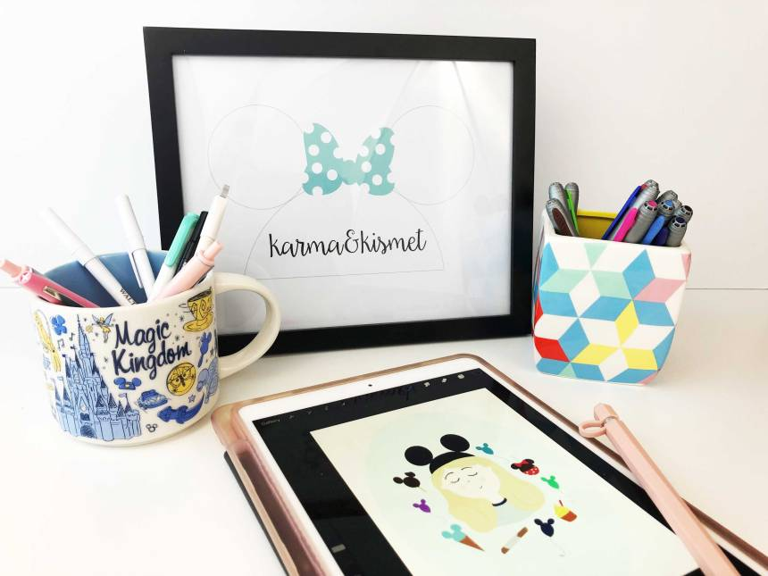 karma&kismet includes business services, a shop on Etsy, and a weekly blog that is perfect for Disney fans!