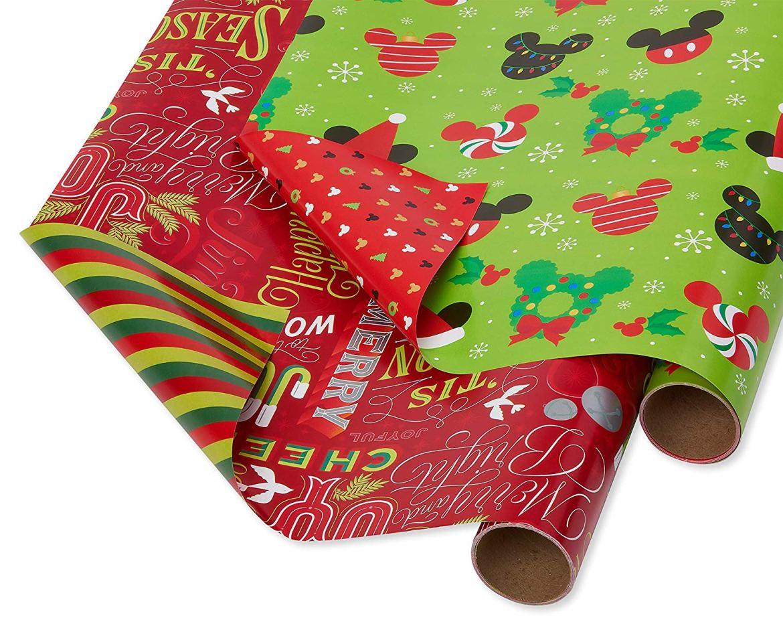 Disney Christmas gift wrapping