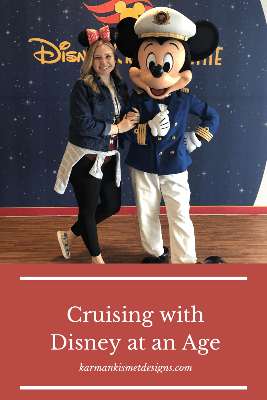 Cruising with Disney at any Age