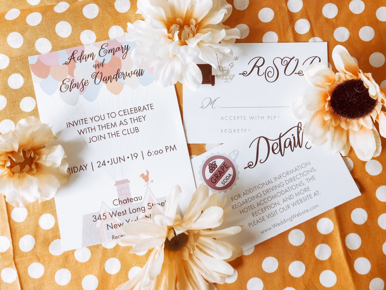 Disney Wedding Invitations