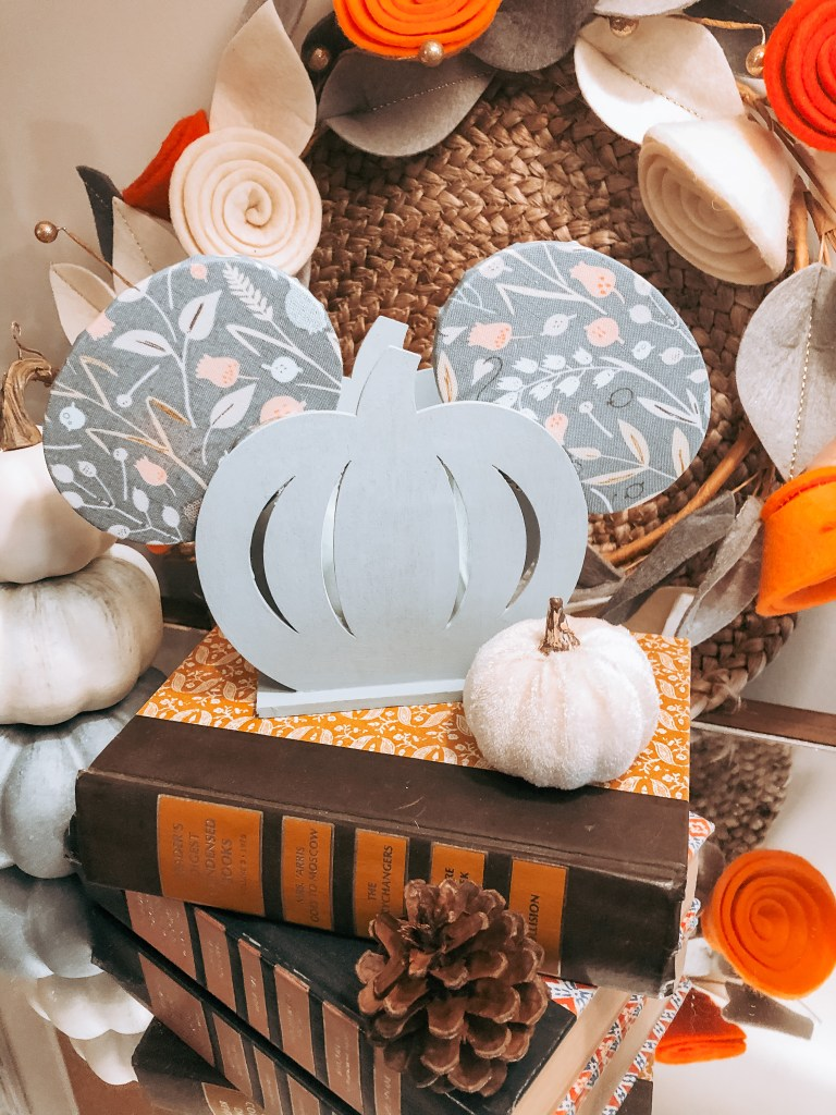 Mickey Mouse Fall Decor DIY craft