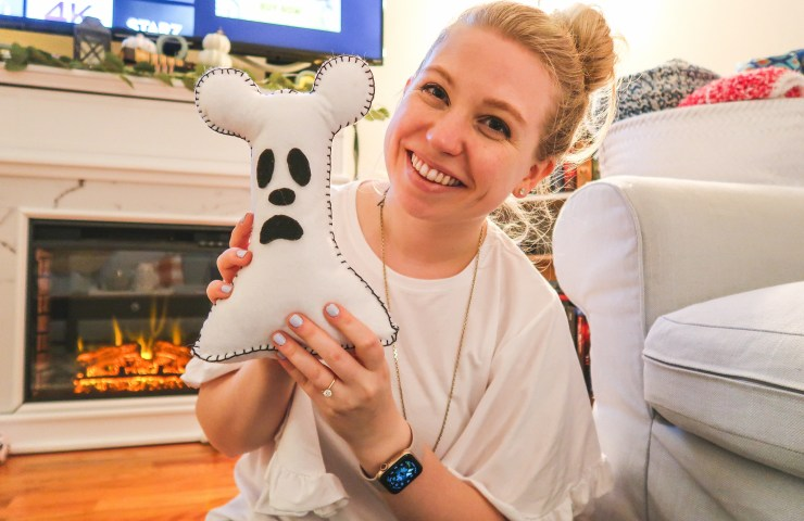 disney mickey mouse ghost DIY pillow