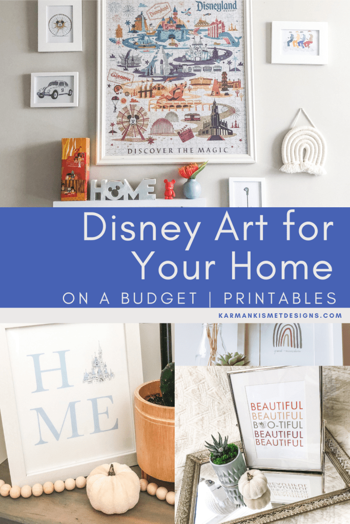 Disney Art for Your Home on a Budget