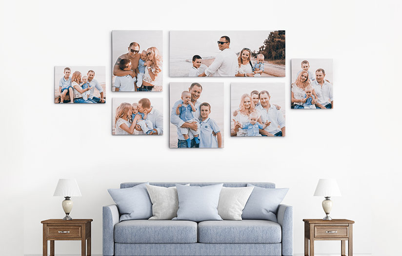 Canvas picture printing