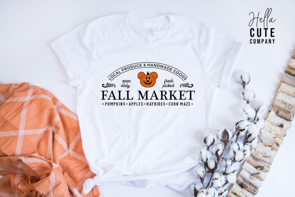 Mickey Mouse Fall market shirt