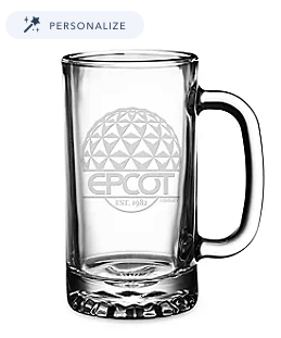 Disney EPCOT Beer Stein Drinking Glass