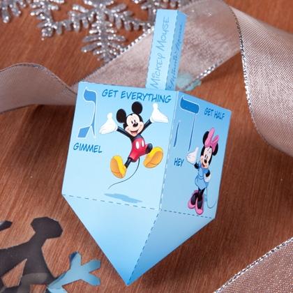 Disney Hanukkah Dreidel