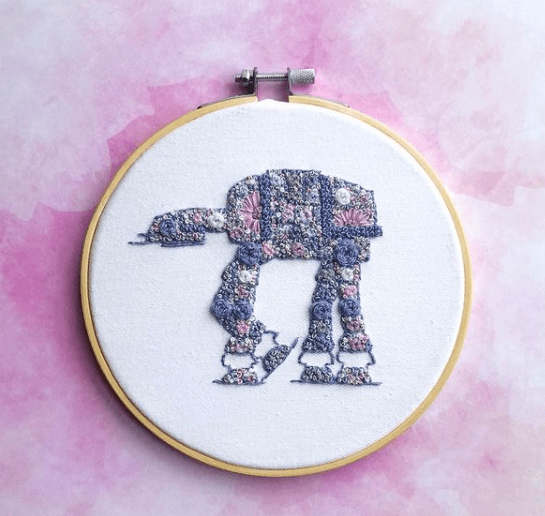 Star Wars Embroidery Art