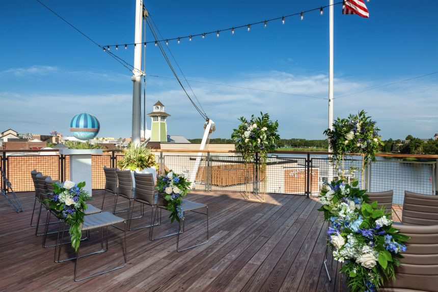 Disney Paddlefish Wedding