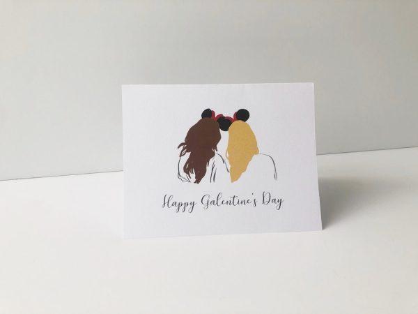 Disney Galentines Day Card