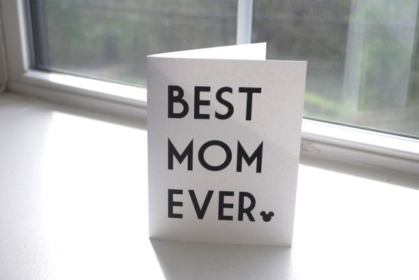 Disney Mothers Day Card