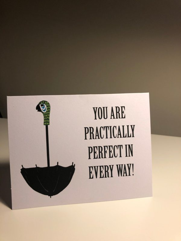 Mary Poppins Valentines Day Card