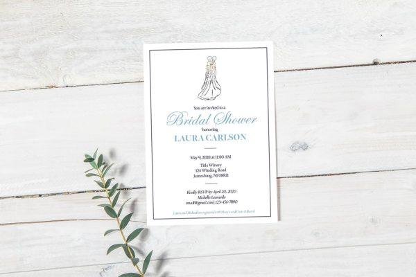 Disney Bridal Shower Invitation