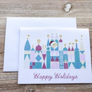 It's a Small World Christmas Card