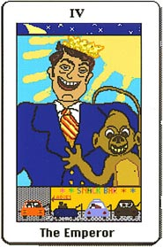 Electronic Republican Tarot The Emperor