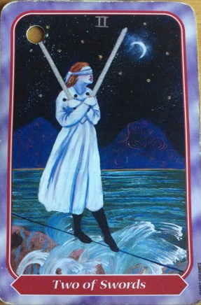 Spiral Tarot 2 of Swords