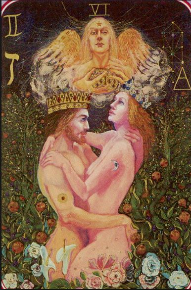 Spiral Tarot The Lovers