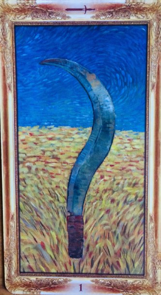 Impressionist Tarot Ace of Swords