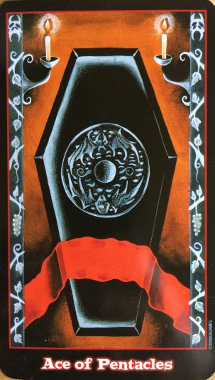 Vampire Tarot Ace of Pentacles