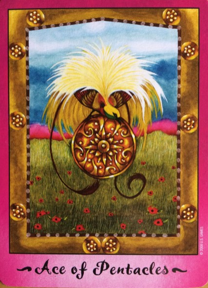 Faerie Tarot Ace of Pentacles