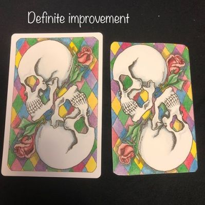 Image result for trimming and edging tarot